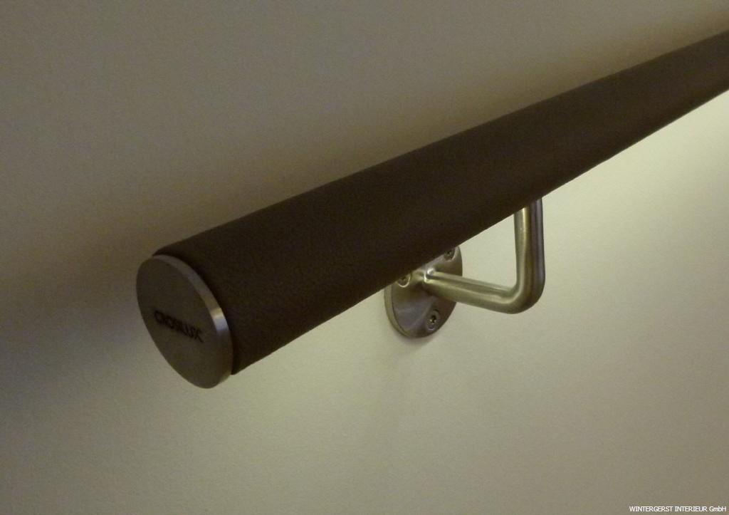 Handlauf Mit Led Beleuchtung Und Leder within proportions 1204 X 850