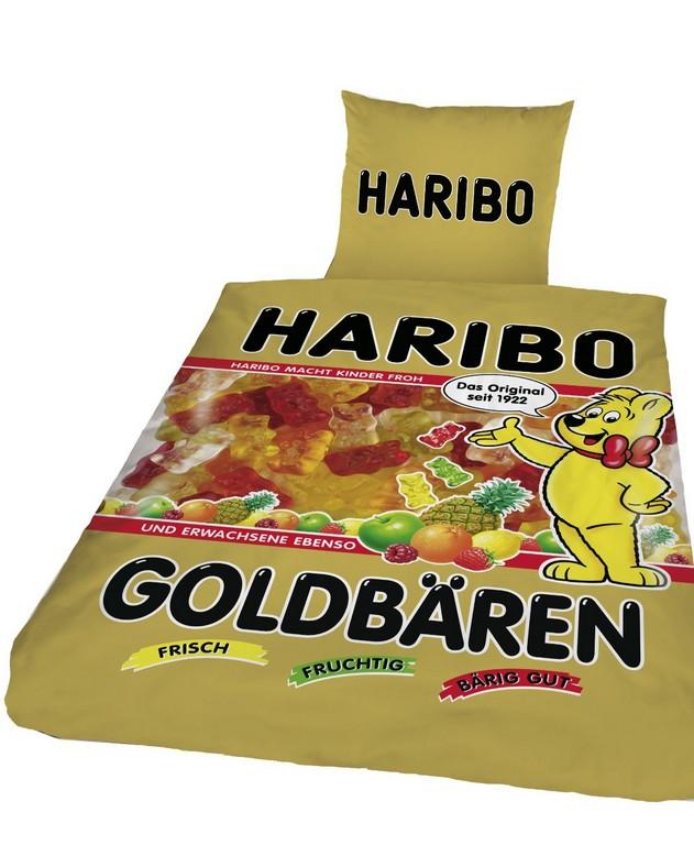 Haribo Goldbren Gummibrchen Bettwsche Geschenkideen72 with regard to sizing 1232 X 1500