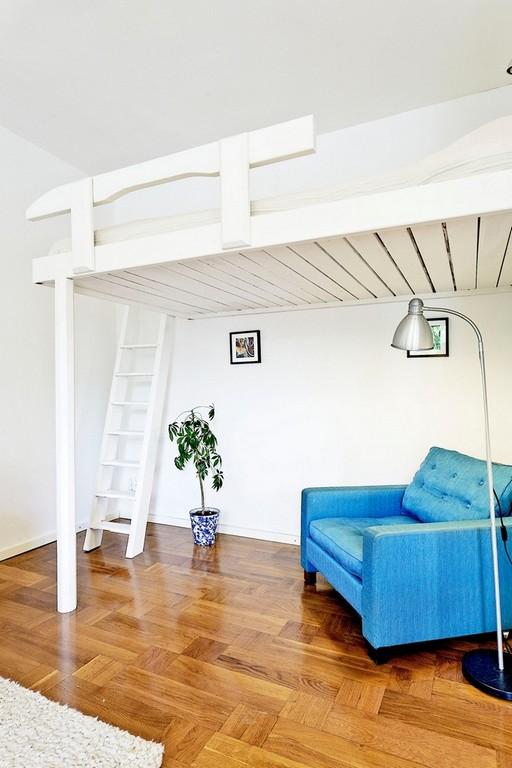 Hochbetten Fr Erwachsene Gute Idee Fr Kleine Wohnung with dimensions 750 X 1125