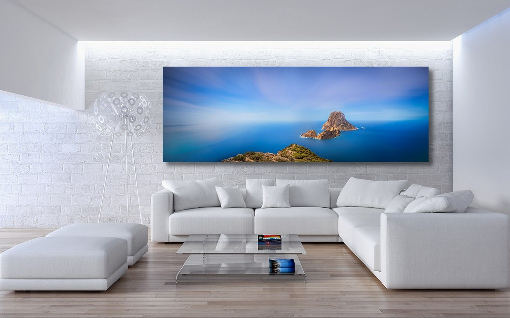 Hochwertiges Wandbild Ibiza Es Vedra Felsen Torre De Pirata throughout size 1500 X 935