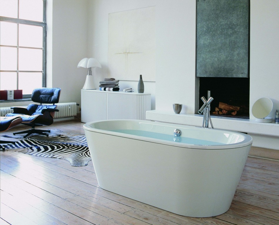 Hoesch Philippe Starck 2 Freistehende Ovalbadewanne 1750 X 800 Mm for dimensions 3543 X 2864