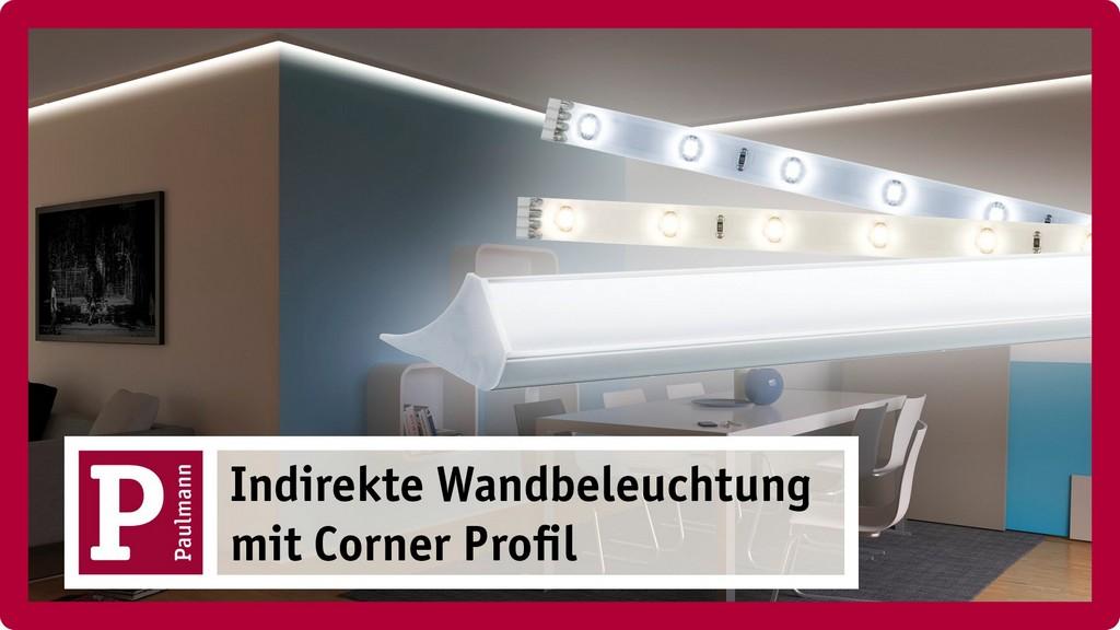 Indirekte Beleuchtung Stuckleisten Und Licht Voute Mit Led Strips in sizing 1920 X 1080