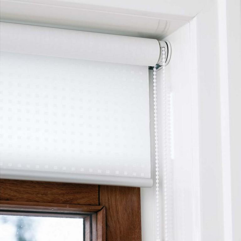 Innenrollos Am Fenster Vom Hersteller Rollosde with measurements 1000 X 1000