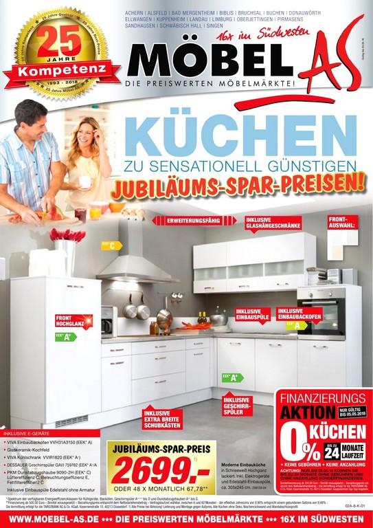 Intelligente Inspiration Mbel As Kchen Und Prospekte Angebote Mit with measurements 1132 X 1600