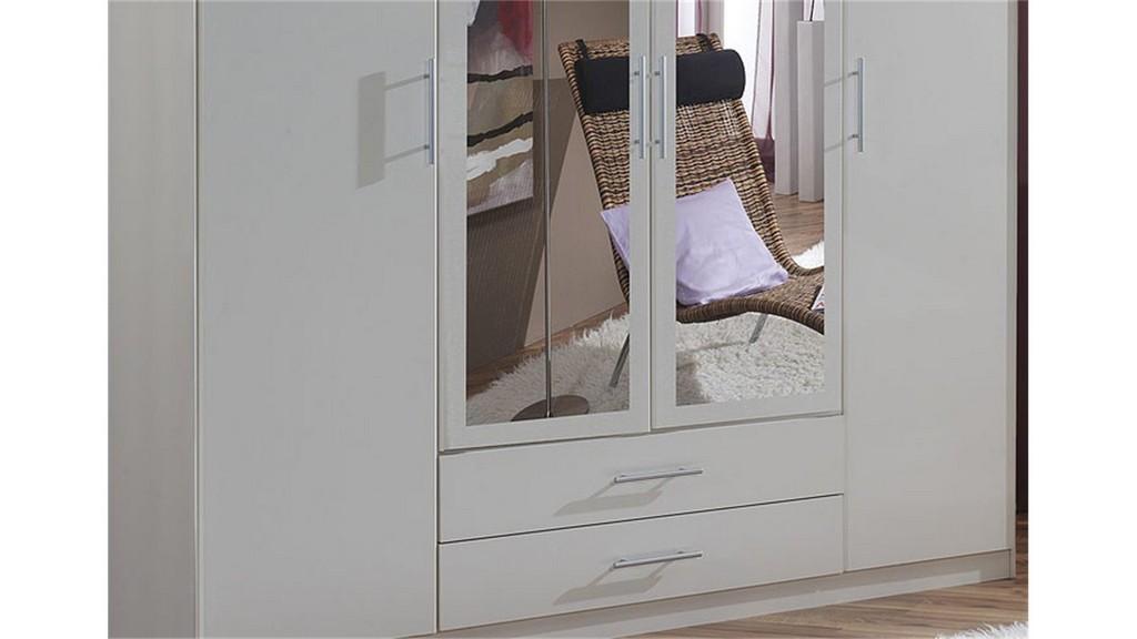 Kleiderschrank Iii Clip Schrank Wei Breite 180 Cm 4 Trig within proportions 1500 X 844