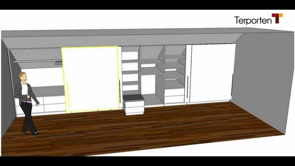 Kleiderschrank In Einer Dachschrge Terporten Tischler Schreiner within measurements 1280 X 720