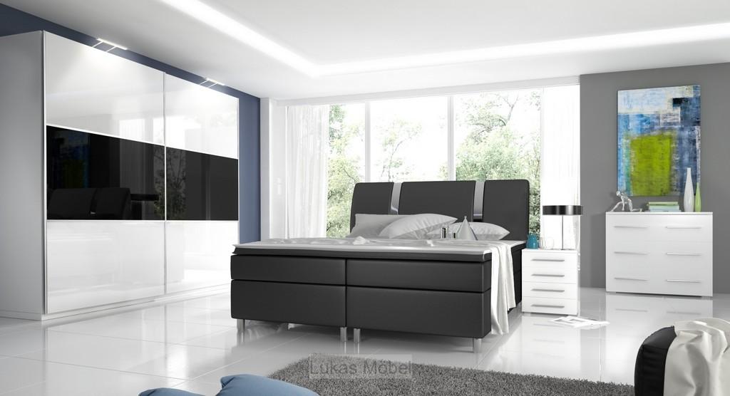 Komplett Schlafzimmer Hochglanz Rivabox inside sizing 1600 X 868