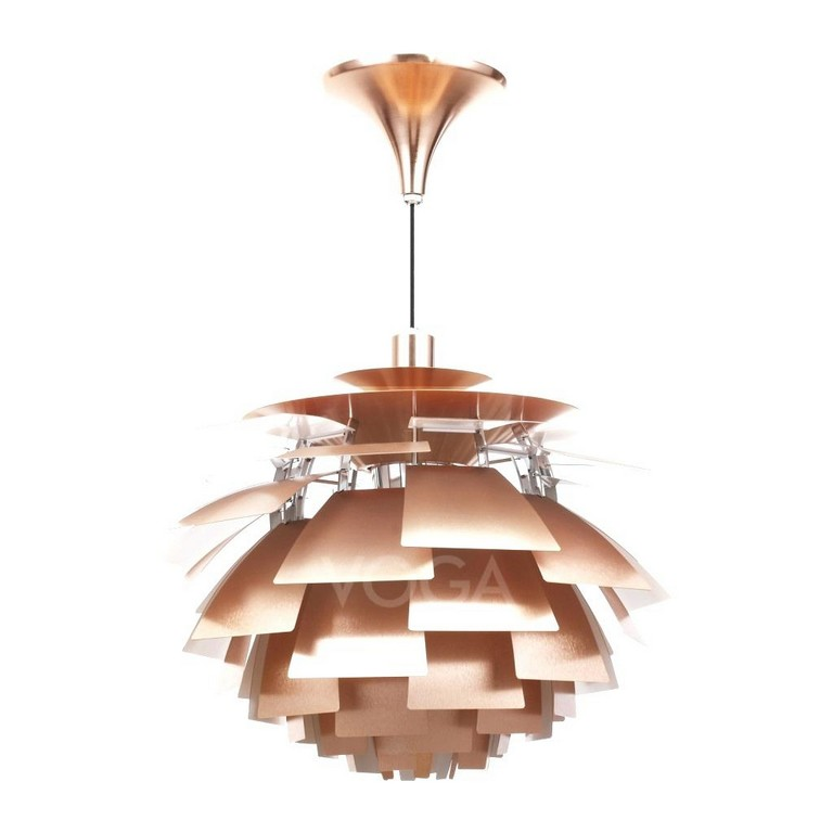 Kupferlampe Lampe Artischocke Gros Update Poul Henningsen Kupfer intended for dimensions 1024 X 1024