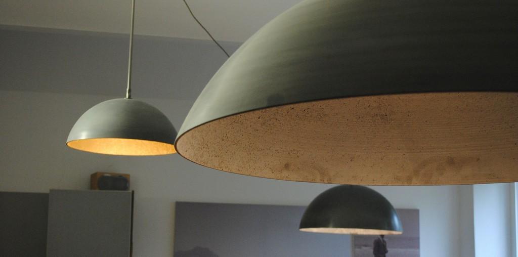 Lampen Aus Faserverstrktem Gussbeton Durchmesser 90 70 Oder 50 Cm for proportions 2896 X 1438