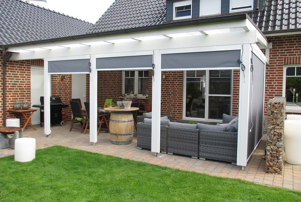 Lass Die Sonne Rein Terrassenberdachung Aus Glas regarding size 1400 X 940