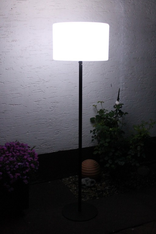 Leco Led Terrassenstehlampe Farbwechsel Stehlampe Garten Lampe pertaining to size 1600 X 2400