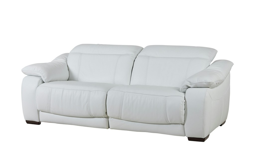 Ledersofa Mit Relaxfunktion Wei Leder Unika intended for dimensions 2000 X 1222