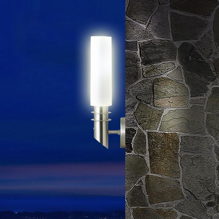 Licht Terrasse Beleuchtung Wand 5 Watt Led Lampe Garten Leuchte intended for proportions 1000 X 1000
