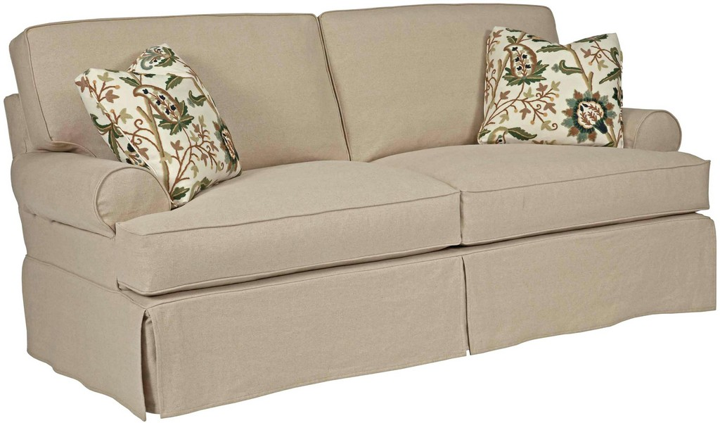 Luxury T Cushion Couch Covers 2 Piece Stretch Sofa Slipcovers In inside size 2716 X 1594