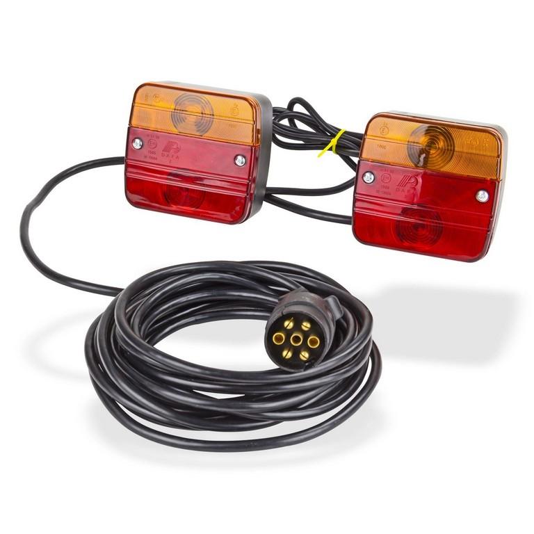 Magnet Beleuchtungssatz Rcklichter Beleuchtung 12v Fr Anhnger inside proportions 1600 X 1600