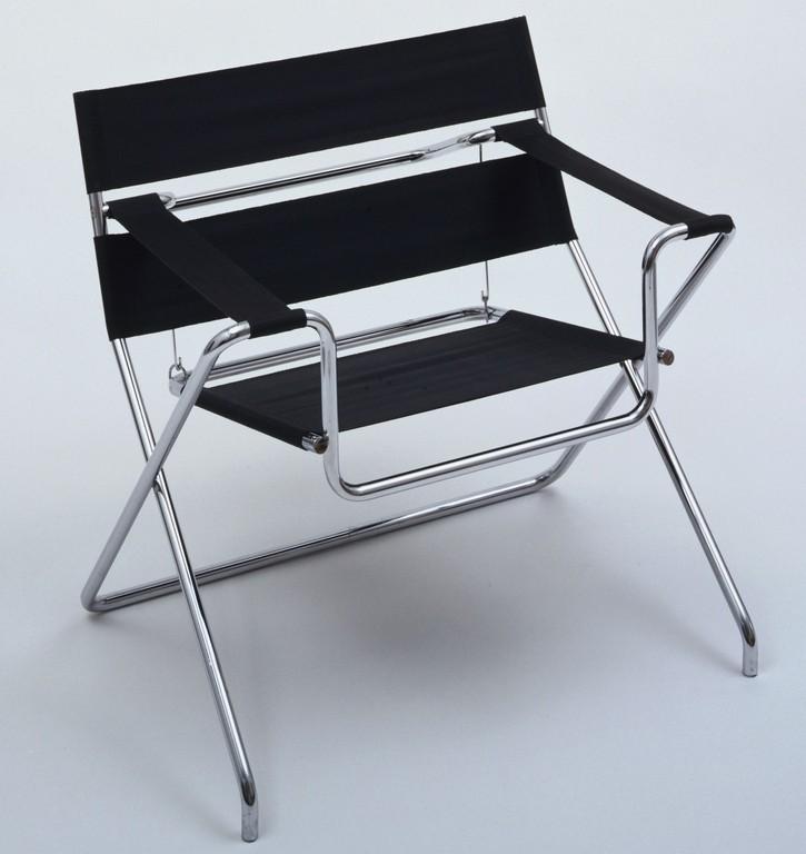 Marcel Breuer Folding Armchair Model B4 1927 Tecta Mbel regarding dimensions 1888 X 2000