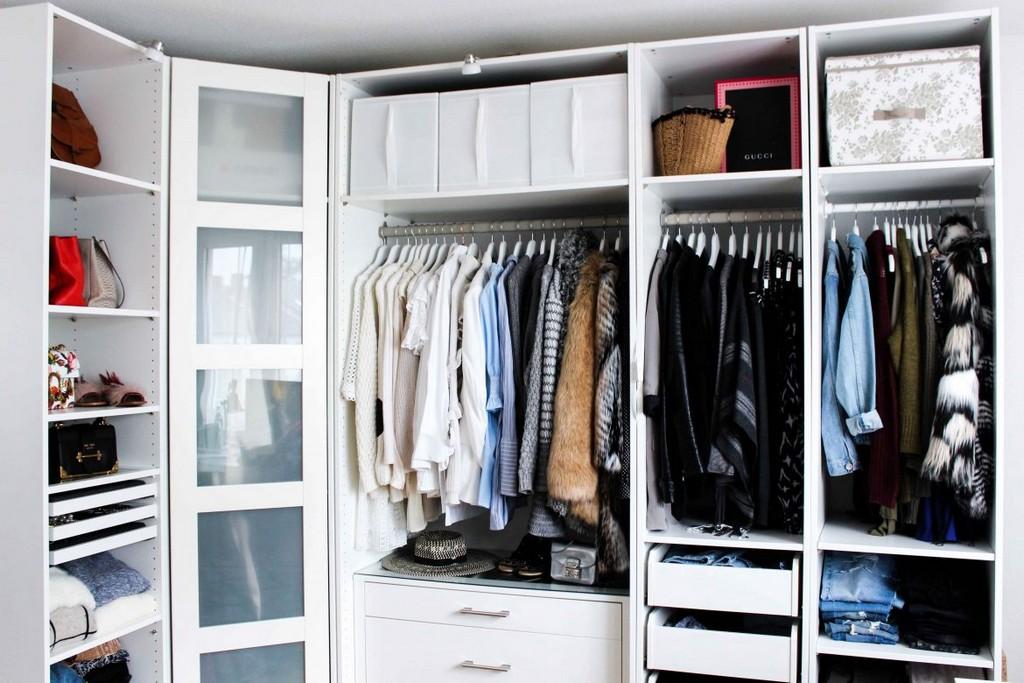 Mein Ankleidezimmer Tipps Fr Den Pax Kleiderschrank within size 1170 X 780