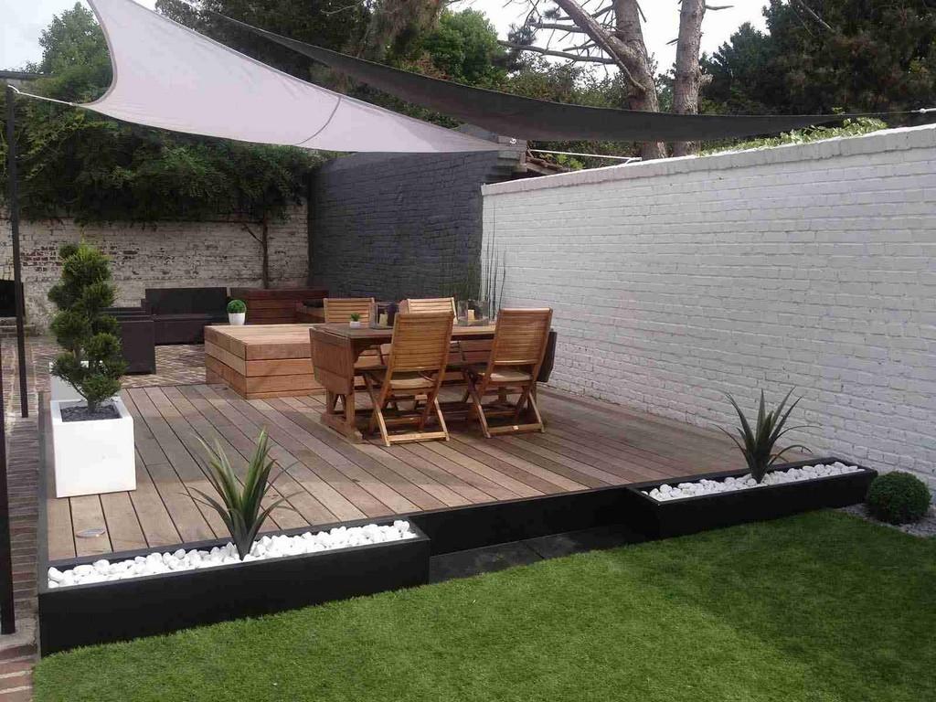Merveilleux Terrasse Carport Pour Stunning Idees De Design Maison in dimensions 1600 X 1200