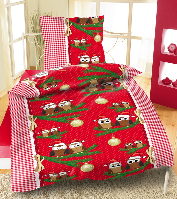 Mikrofaser Fleece Bettwsche 135x200 155x220 2 Teilig Weihnachten throughout proportions 1999 X 2244