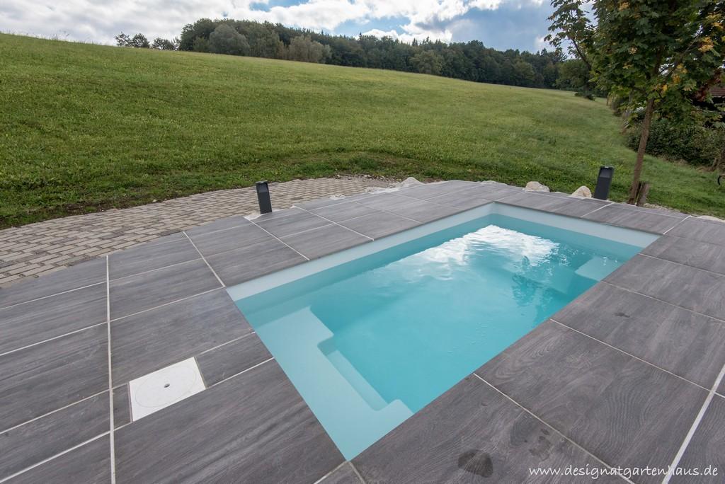 Minipool Tauchbecken Fr Den Garten Von Designgarten Augsburg regarding measurements 5806 X 3876