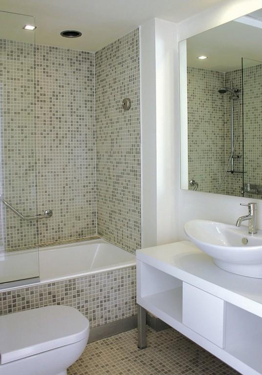 Moderne Badezimmergestaltung Fliesen Fr Kleines Bad regarding size 750 X 1075
