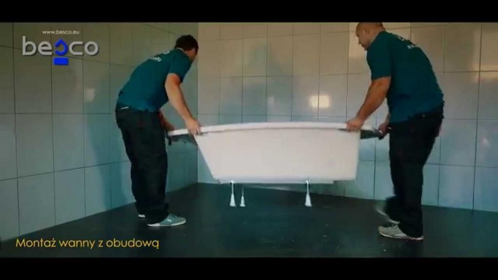 Montageanleitung Einbau Der Badewanne Mit Der Schrze Bestshop24 within measurements 1280 X 720