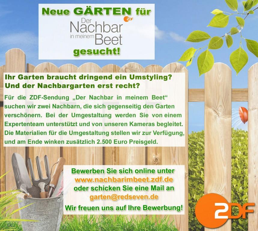 Neue Grten Fr Tv Produktion Gesucht Dega Gartenbau Fachmagazin throughout dimensions 1024 X 916