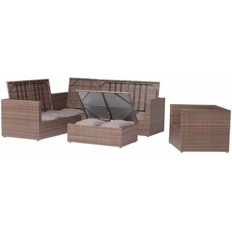 Obi Gartenmbel Gruppe Livingston 5 Tlg Kaufen Bei Obi throughout dimensions 1500 X 1500