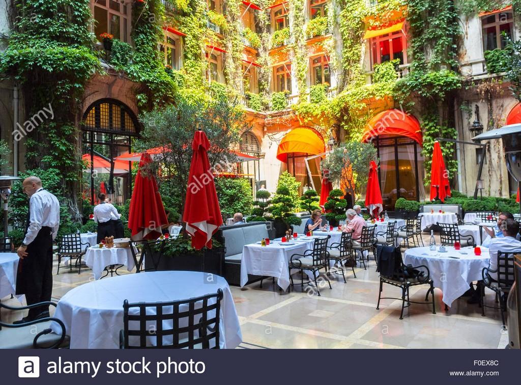 Paris Frankreich Luxus Garten Terrasse Franzsisches Bistro pertaining to size 1300 X 960