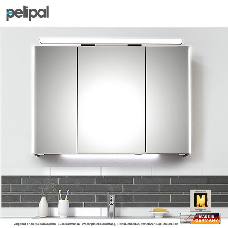 Pelipal Solitaire 9005 Spiegelschrank 100 Cm Mit Seitlicher Led inside dimensions 1400 X 1400