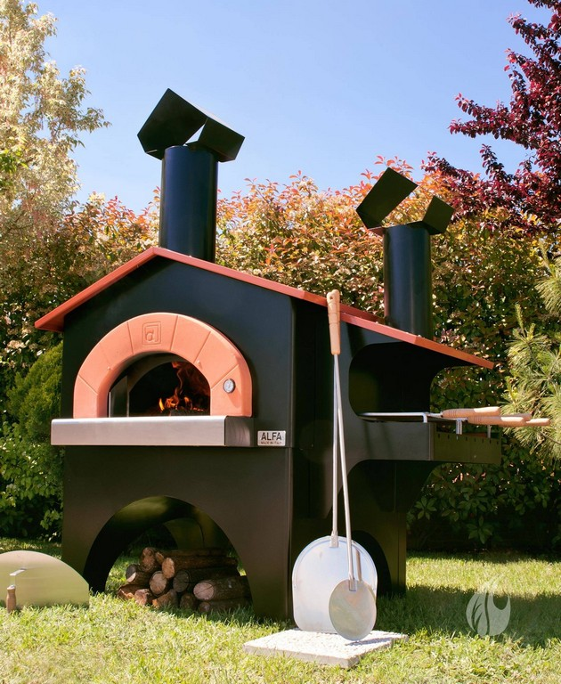 Pizzafen Fr Den Garten Alfa Pizza Ofen Fiesta Barbecue for proportions 1640 X 2000