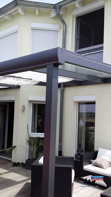 Preiswerte Terrassenuberdachung Terrassendach Alu Glas Nt07 in measurements 720 X 1280