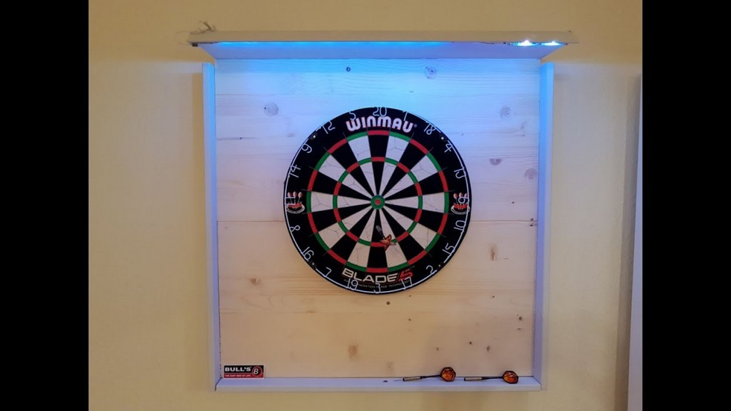 Profi Dartboard Scheibe Und Surround Selber Bauen Mit Led throughout sizing 1280 X 720