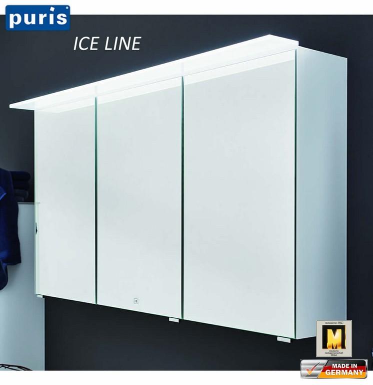 Puris Ice Line Spiegelschrank 90 Cm Mit Optionaler Spiegelheizung regarding size 1103 X 1136