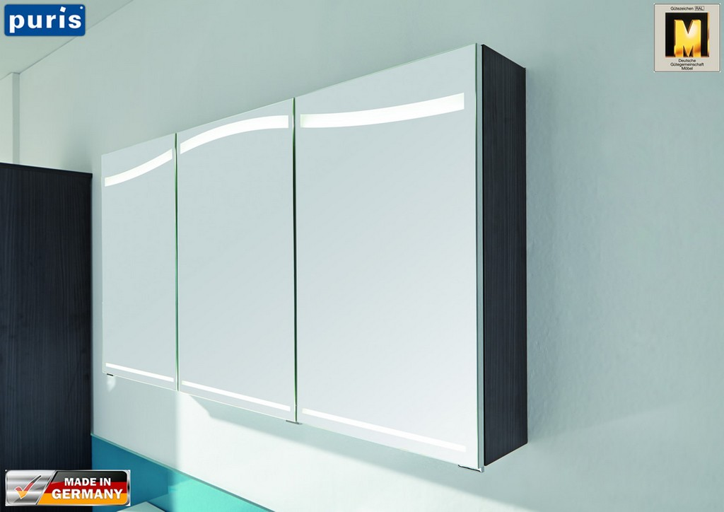 Puris Wave Plus Spiegelschrank 120 Cm S2a4312s6 Impuls Home with regard to sizing 1083 X 766