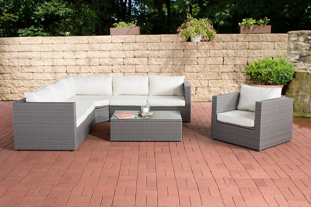 Rattan Lounge Set Tibera Gartenmbel Set Polyrattan Loungembel Set for size 1200 X 800