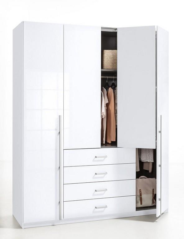 Rauch Select Kleiderschrank Als Schlafzimmerschrank Gleiner throughout dimensions 818 X 1062
