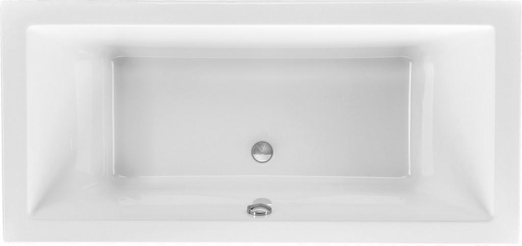 Rechteck Badewanne 200 X 90 Cm Mit Ablauf Mittig inside proportions 2900 X 1364