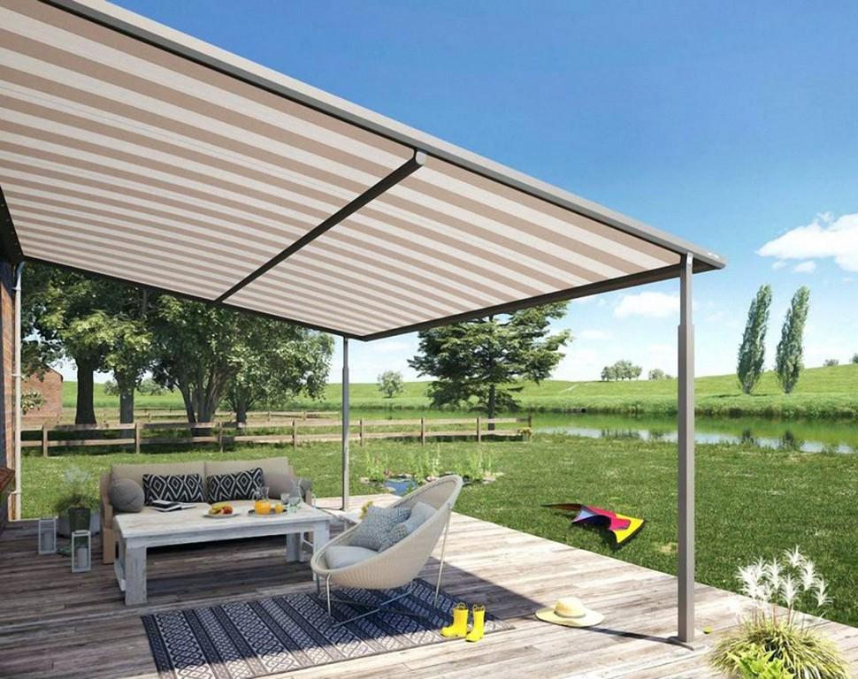 Regenschutz Markise Regen Terrasse Sonnen Und Markisen Pergola throughout proportions 1024 X 811