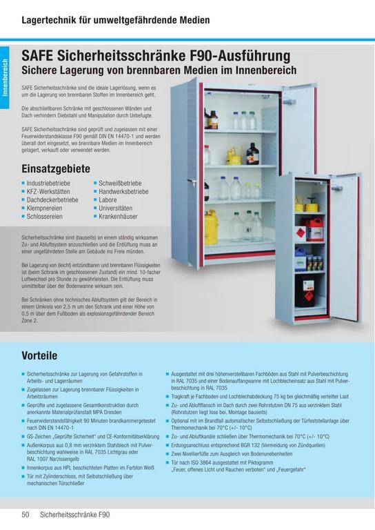 Safe Brandschutzschrnke F90 Saebu Morsbach Gmbh Pdf Katalog pertaining to sizing 1000 X 1412