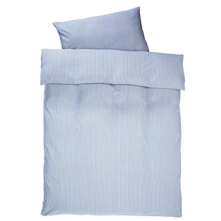 Satin Bettwsche Streifen 140x200 Blau Dnisches Bettenlager throughout size 960 X 960