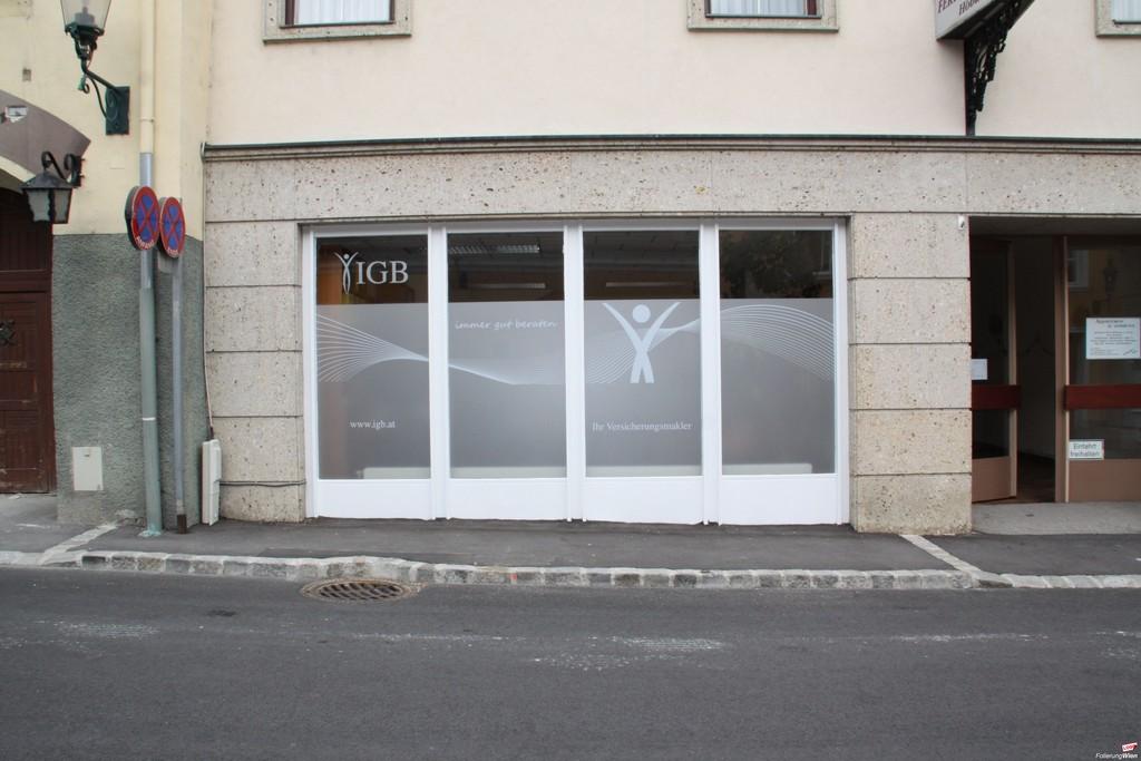 Schaufenster Fenster Beklebung Folieren Sichtschutz with measurements 4752 X 3168