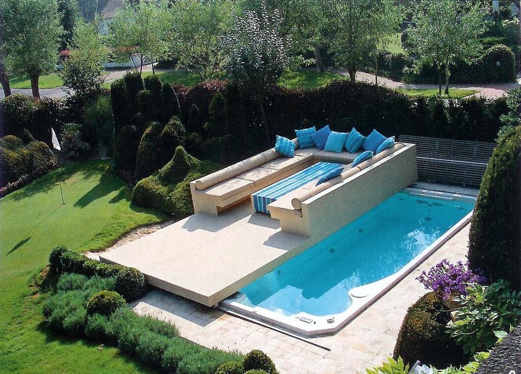 Schiebbare Abdeckung Pool Terasse Als Abdeckung Fr Pool Spa in dimensions 1090 X 782