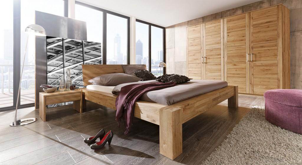 Schlafzimmer Aus Massivholz Gnstig Kaufen Bettende pertaining to size 1600 X 873