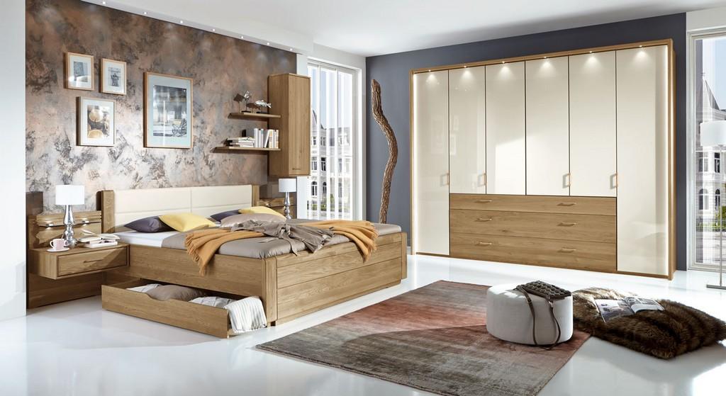 Schlafzimmer Aus Massivholz Gnstig Kaufen Bettende with regard to sizing 1600 X 873