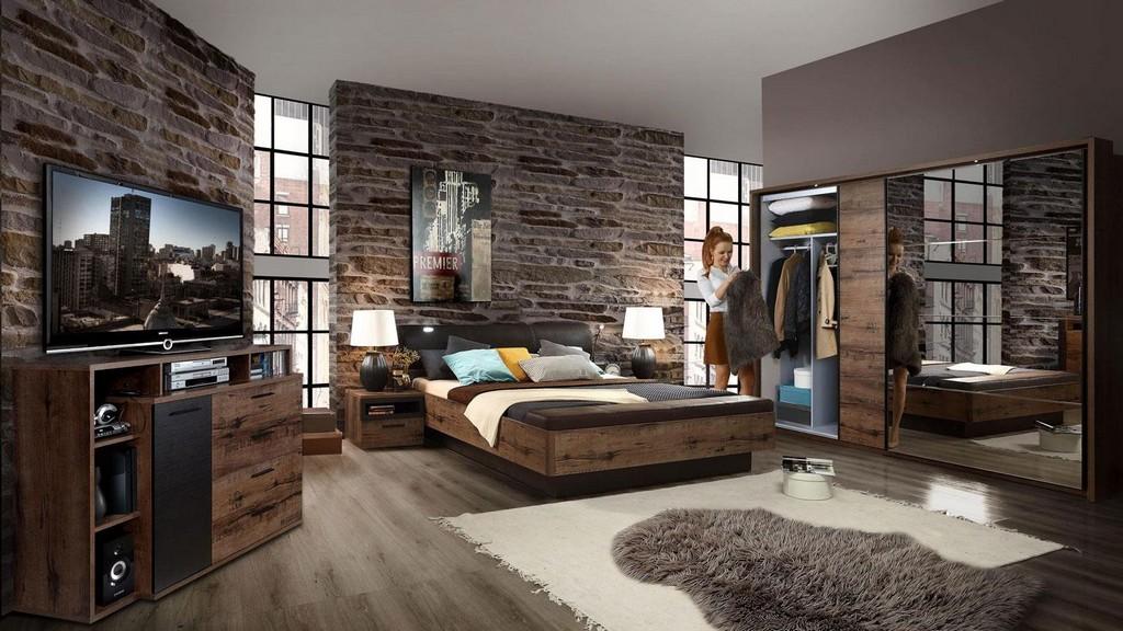 Schlafzimmer Komplettset Jacky Bettanlage Schrank Kommode inside sizing 1500 X 844