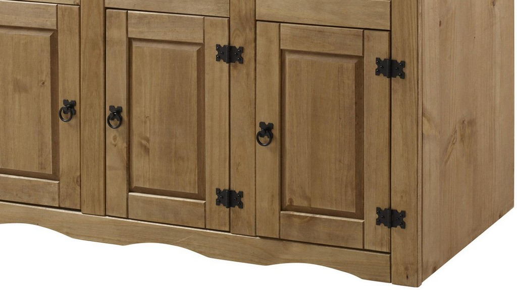Sideboard Mexico Pinie Massiv Antik 3 Trig with dimensions 1500 X 844