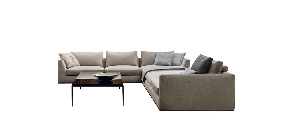 Sofa Richard Bb Italia Design Antonio Citterio intended for size 1484 X 580