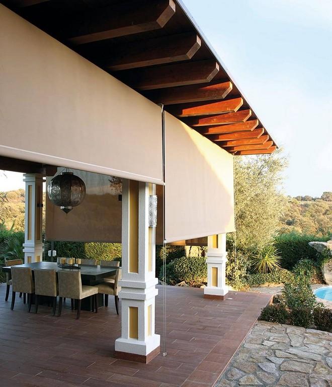 Sonnenschutz Fr Ihre Terrasse Komfortable Schattenspender with proportions 1024 X 1192