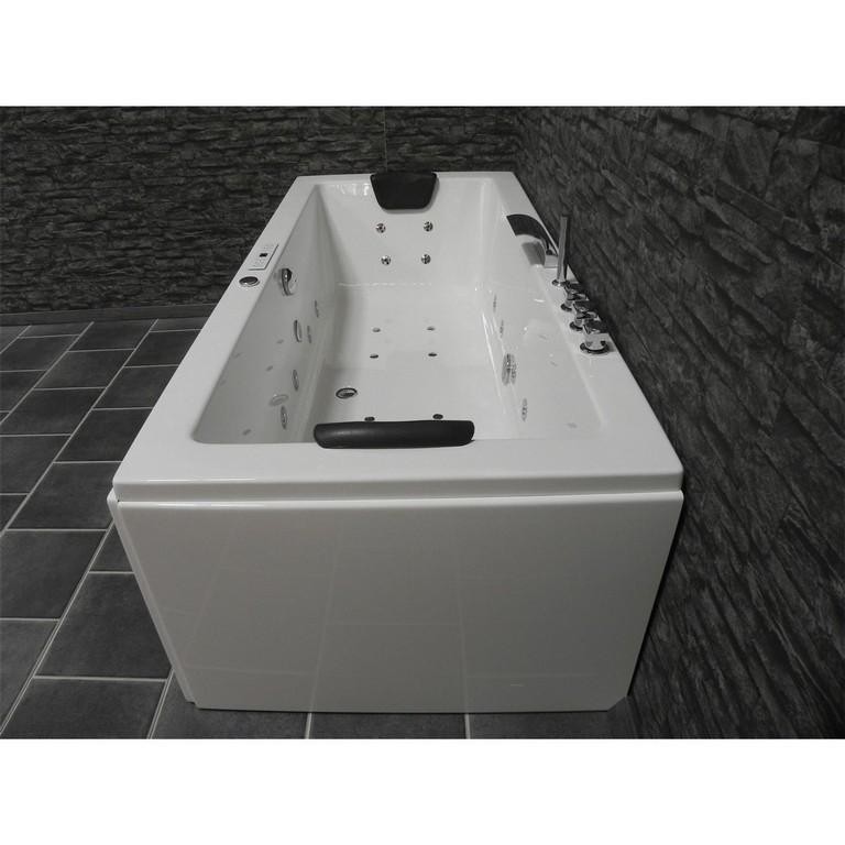 Sophia Premium Luxus Whirlpool Rechteck Badewanne 180x80 Top within dimensions 1500 X 1500